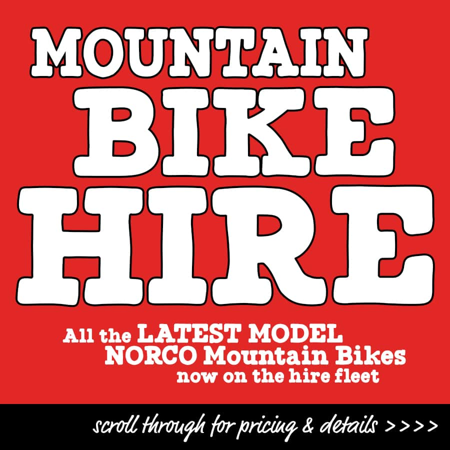 CAIRNS MOUNTAIN BIKE HIRE NORCO BICYCLES