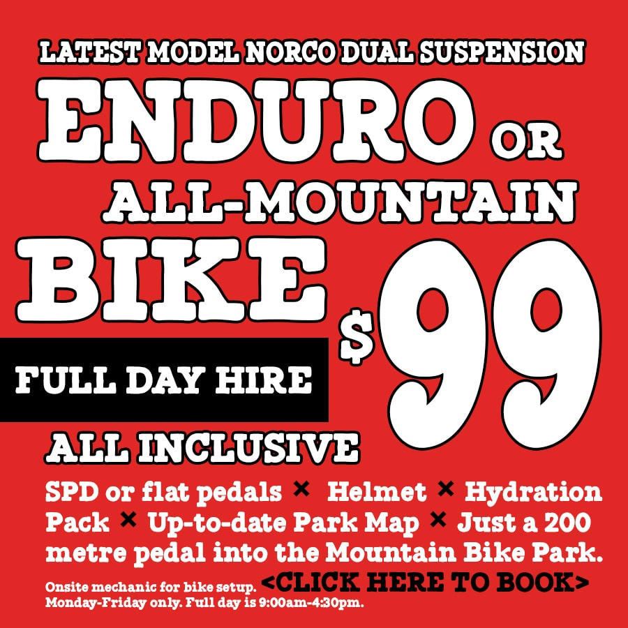 CAIRNS MOUNTAIN BIKE HIRE