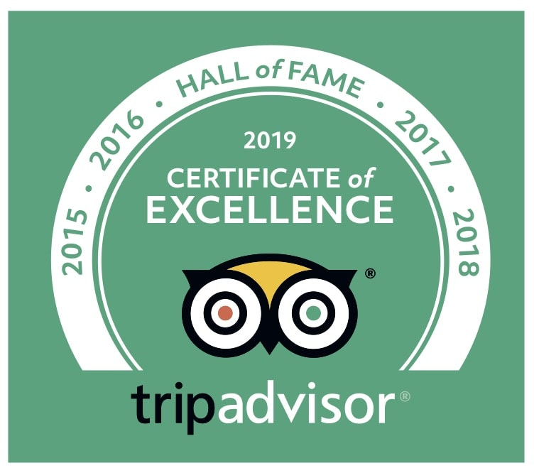 Cairns MTB Tours TripAdvisor Hall of Fame